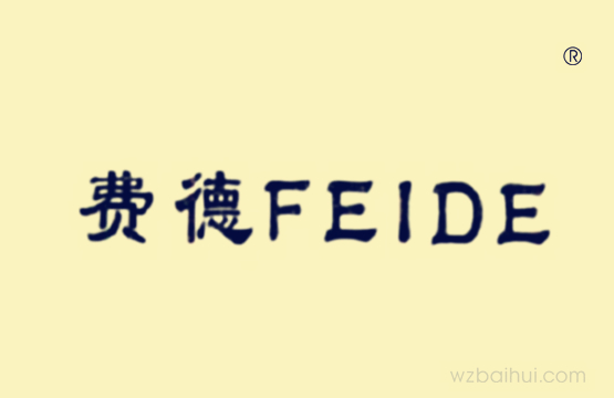 费德FEIDE